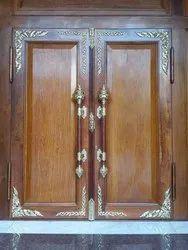 Brown Wooden Temple Door, For Home