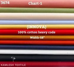 Innova 100% Cotton Heavy Code Shirting Fabric