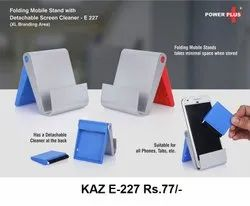 Folding Mobile Stand With Detachable Screen Cleaner