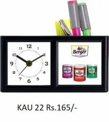 Penstand With Clock