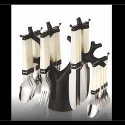 24 SS Fancy Kitchen Cutlery, For Restaurant