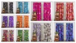 Silk Curtain Theme Patchwork Sari Gypsy Curtain Ethnic Wall Hanging Box Patches Curtains