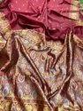 Presetn Banarasi Silk Saree