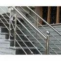 S.S Stair Railings - Grade 304& 202 Polish Pipe