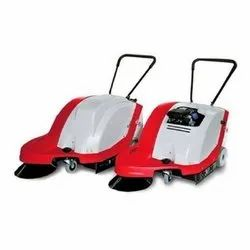 Strong And Affordable Walk Behind Sweeper (Premium)