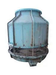 Fiberglass Reinforced Polyester Closed Loop FRP Round Cooling Tower, Capacity: 50 Tr