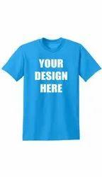 Cotton Printed T Shirt Printing Services, Designing