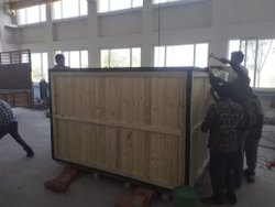 Pine wood Wooden Packing Box, Size(LXWXH)(Inches): 80x50x50 Inch