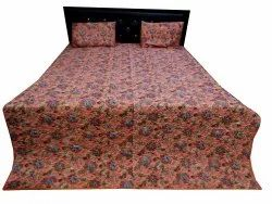 Screen Print Quilted Bed Cover
