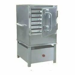 0.5 Kw Stainless Steel Table Top Idli Steamer, For Restaurant, 230 V