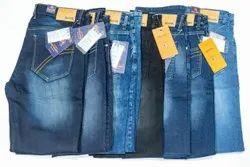 Denim Faded Quads Jeans