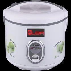 Aluminium Quba Deluxe Rice Cooker 1.8 Liter, For Home