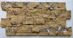 Rock Faced Golden Bidasar Gold Tile, Outdoor And Indoor