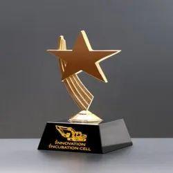 star crystal award trophy