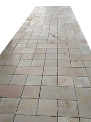 Grey Stone Matte Finish Floor Tile