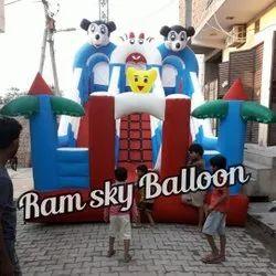 Outdoor Bouncy Slide