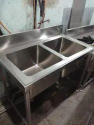 Double Bowl Table Sink