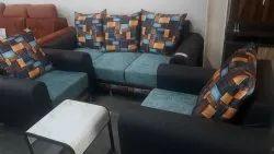 Modern Blue Living Room Sofa Set 3+1+1, For Home