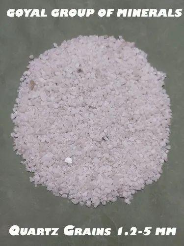 Quartz Grains (1.2-5 mm)