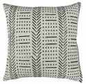 Indian Cotton Rug Throw Pillow Cover Hand Block Printed Authentic Hand loom Mud Cloth Cushion Case