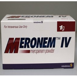 Meronem IV Meropenem Powder