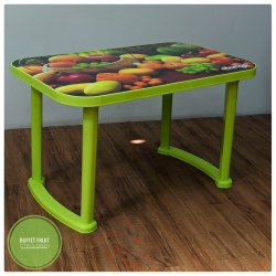 Mango Chairs Buffet Fruit Plastic Table