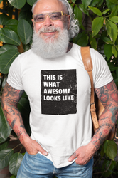 Half Sleeve Cotton Men Round Neck T Shirt