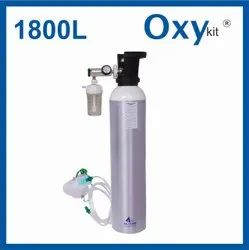 OxyKit Portable Medical Oxygen Cylinders (1800 Liters)
