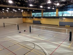 Synthetic Volleyball Flooring Services
