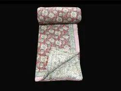 Handblock Cotton Quilt