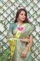 Present Soft Lichi Silk Good Looking Saree