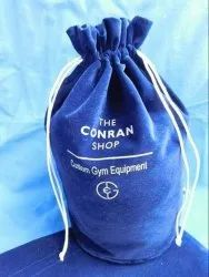 conifer Textured Custom Made Dust Bags With Logo Prints, 2, Size/Dimension: 6*8