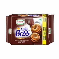 Chocolate Flavored Cream Sandwich Biscuit