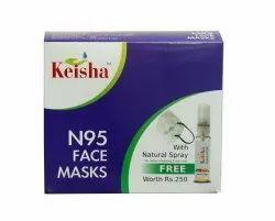 Keisha N95 Disposable Face Mask For Covid Protection
