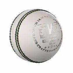 Club Pro White Cricket Ball