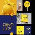 2d Flavo Lica Logo Design