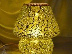 Glass Tafan  Mosaic Table Lamp