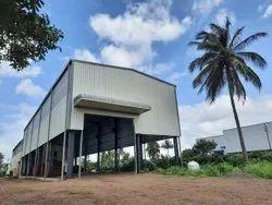 Steel Machine Shop Building