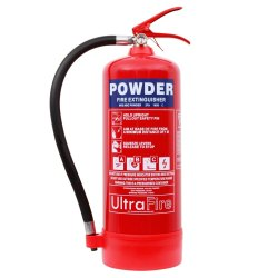 Mild Steel CO2 Based 5 Kg Dry Powder Fire Extinguisher, For Industrial