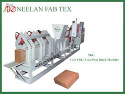 Coir Press Block Making Machine