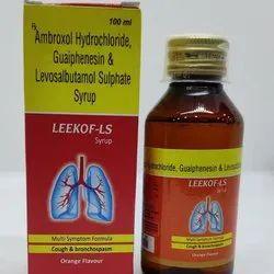 Ambroxol hydrochloride IP 30 MG +  Guaiphenesin IP 50 MG and Levosalbutamol 1 MG