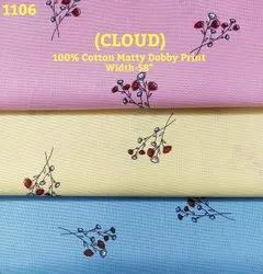 Cloud 100% Cotton Matty Dobby Shirting Fabric