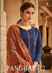 Deepsy Suit Panghat Vol 12 Jam Cotton Print With Embroidery Work Dress Material Catalog