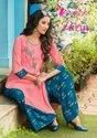 Casual Wear Regular Parin Vol-3 Kurti With Plazzo, Wash Care: Dry Clean