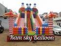 Jumping Big Bouncy Slide