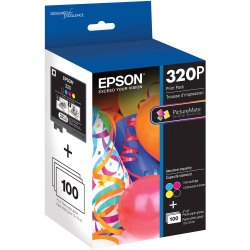 320P Epson Ink Cartridge, For Printer