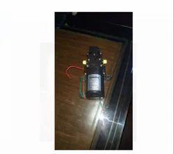 Battery pump motor