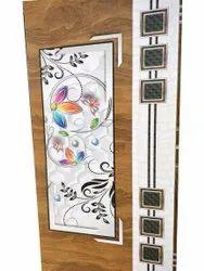 Polished Indoor Wooden Doors, Thickness: 30 Mm