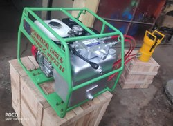 Motorized Hydraulic Compressor Machine