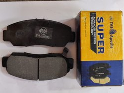 Cast Iron TVS Apache Disc Brake Pad, For Two Wheeler, Packaging Type: Carton Box